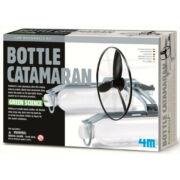 Készíts PET palack katamaránt