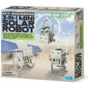 Készíts 3in1-ben mini napelemes robotot