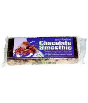 Belga csokoládés gabonaszelet (gyümölcs-dió)