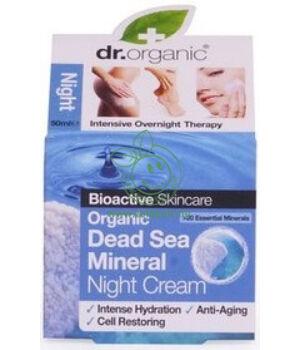Dr. Organic éjszakai krém (holt tengeri)