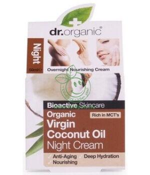 Dr. Organic éjszakai krém (kókuszolaj)