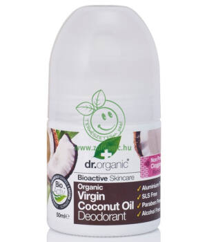 Dr. Organic dezodor (kókuszolaj)