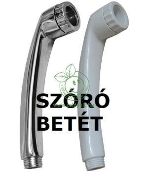 Víztakarékos zuhanyfej betét, Turbo (fehér)