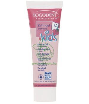 Gyerek fogkrém, Logodent (eper)