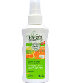 Lavera Hair volumennövelő spray vékony hajra