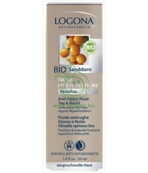 Logona ránctalanító krém, age protection (30ml)