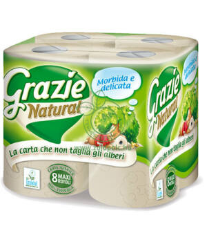 Öko WC papír, Grazie (8db)