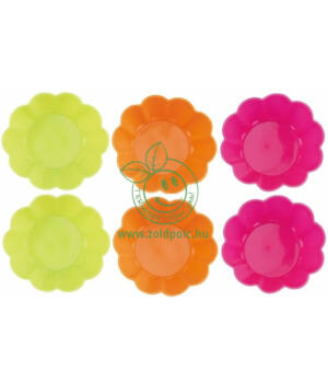 Szappanöntő forma, szilikon 6 db (virág)
