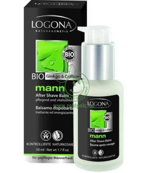 Borotválkozás utáni balzsam, Logona Mann