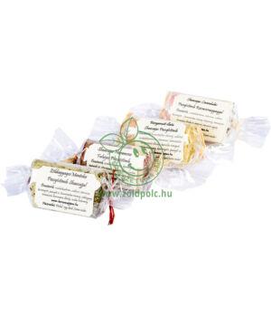 Fürdőbomba sheavajas (zöld agyag-mentol)