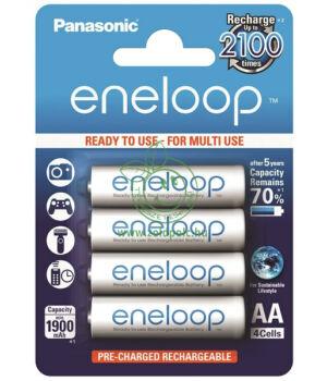 Tölthető AA elem Eneloop, Panasonic 4db
