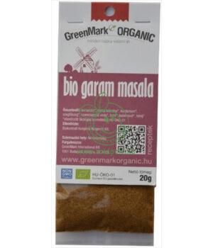 Fűszerkeverék egzotikus bio, GreenMark (Garam masala)