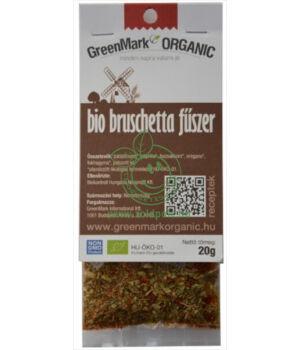 Fűszerkeverék salátához bio, GreenMark (Bruschetta)
