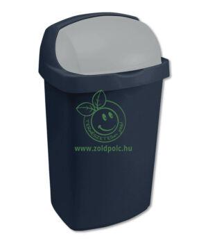 Felhajtható tetejű szemetes, műanyag Roll Top (25l)