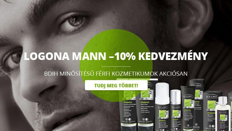 Logona Mann -10%