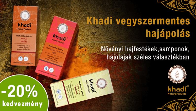 -20% Khadi hajápolás